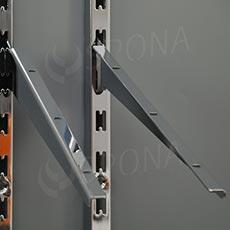 VARIANT držák police 300 mm, sklopný, pár, chrom