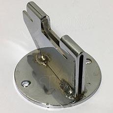 VARIANT držák stojiny na zeď, 30 mm, chrom