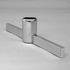 ROTO podstavec stojiny 770 mm, oboustranný, chrom