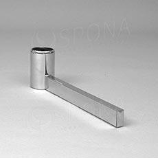 ROTO podstavec stojiny 420 mm, jednostranný, chrom