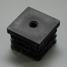 FOUR vložka se závitem M10 40 x 40 mm, plast