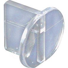 ALIAS úchyt panelu do mono stojiny středový, transparentní