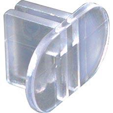 ALIAS úchyt panelu do dvojité stojiny středový, transparentní