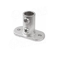 IDROSHOP 35132, koncovka do podlahy pro trubku 35 mm, pozink