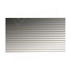 SLAT panel 240 x 120 cm, rozteč 10 cm, terminal, bez insertů, akrylátové zrcadlo (Mirror)