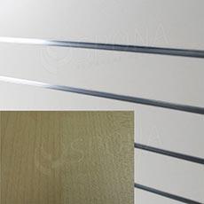 SLAT ARK panel 120 x 240 cm, 20, bez insertů,  buk