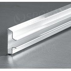 SLAT ART insert T, hliník 05, délka 240 cm