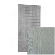SLAT ARK panel 120x240 cm, 15, bez insertů, bělený dub 3D