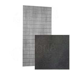 SLAT ARK panel 120x240 cm, 15, bez insertů, beton 3D