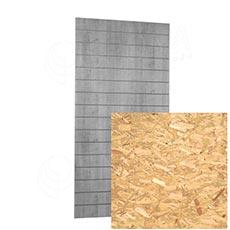 SLAT panel ARK 120x240 cm, 15, bez insertů, design OSB