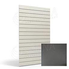 SLAT panel ARK 120x240 cm, 10, bez insertů, antracit