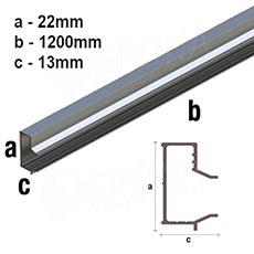 SLAT insert ARK L - ALU, 120 cm