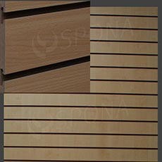 SLAT DREAM panel 120,5 x 122 cm, rozteč 10 cm, bez insertů, buk (beech)