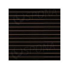 SLAT DREAM panel 120,5 x 122 cm, rozteč 10 cm, bez insertů, černý (black)