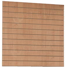 SLAT DREAM panel 120,5 x 122 cm, rozteč 10 cm, bez insertů, javor (maple)
