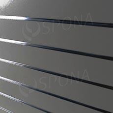 SLAT DREAM panel 120,5x122 cm, 10, bez insertů, stříbrný (silver)