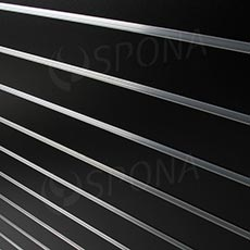 SLAT DREAM panel 120,5x122 cm, 15, bez insertů, černý (black)