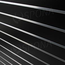 SLAT DREAM panel 120,5x122 cm, 15, bez insertů, černý (black)
