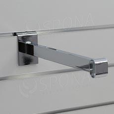 SLAT konzole pro oválnou trubku, délka 310 mm, chrom
