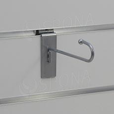 SLAT háček J, délka 130 mm, šedý