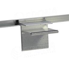SLAT držák skleněných polic 8 x 19 mm
