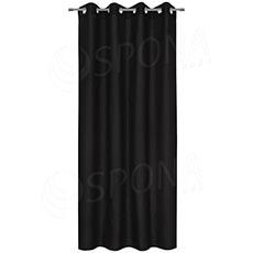 Závěs do kabinky, 140 x 235 cm, černý