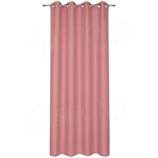 Závěs do kabinky, 140 x 235 cm, růžový
