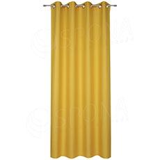 Závěs do kabinky, 140 x 235 cm, žlutý