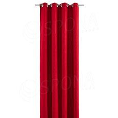 Závěs do kabinky, 140 x 245 cm, červený