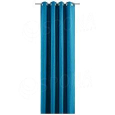Závěs do kabinky, 140 x 245 cm, petrolejově modrý
