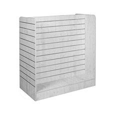 Gondola typ H, SLAT FIX panel, 125x60x128 cm bílá