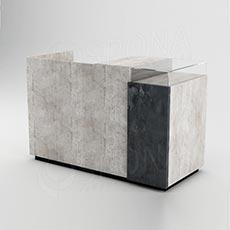 Pult prodejní UNO 160 x 70 x 100 cm, beton