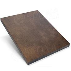 Pult prodejní UNO - čelní panel, barva bronzová