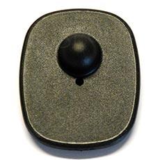 Bezpečnostní etiketa TOP 8,2 MHz, 52 x 43 mm, plast, černá