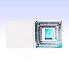 Bezpečnostní etiketa 8,2 MHz, papírová, 50 x 50 mm, bez potisku